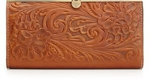 Patricia Nash Tooled Cauchy Wallet